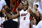 lebron james nba 120621 mia vs okc 072 game 5 chapmions Gallery: LeBron James Triple Double Carries Heat to NBA Title
