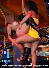 Stripper Joana e Sra Curioso