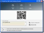 Lettore di codici QR pr Windows - CodeTwo QR Code Desktop Reader