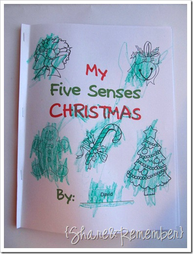 My Five Senses Christmas Printable Booklet » Things to Share and ...