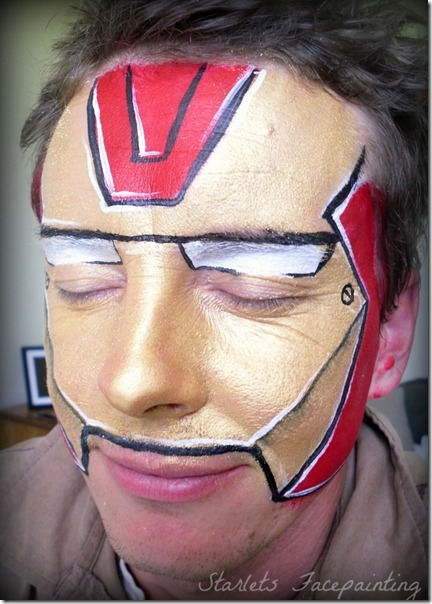 maquillaje de iron man (16)