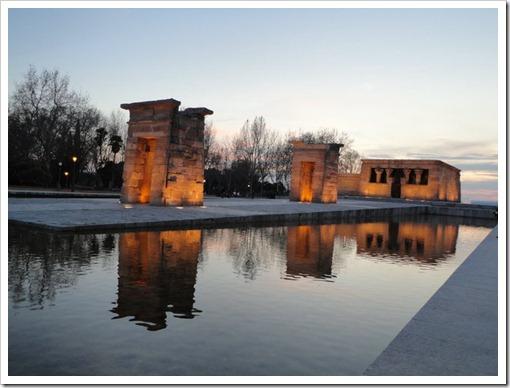 templo de Debod - Madrid, Espanha