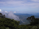 Looking north east from the edge of Surya Kencana near Gn Gede (Daniel Quinn, December 2011)