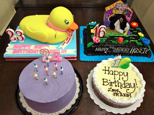 birthday cakes rubber duckie cake goldilocks chocolate cake topped ...