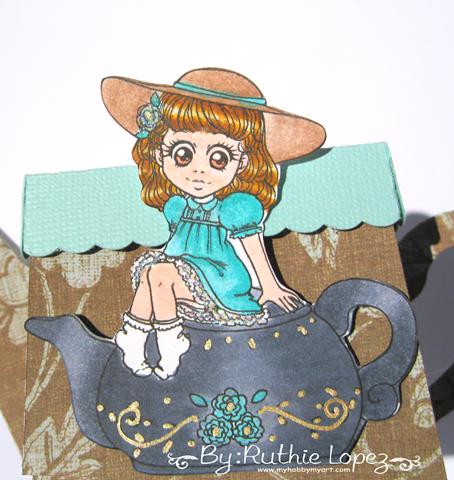 Zuri Artsy Craftsy - Mila - Teapot - tetera - Ruthie Lopez 4