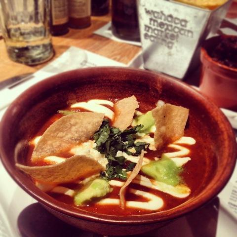 #337 - Wahaca's spicy tomato soup