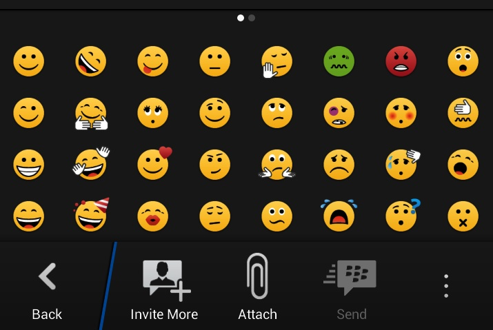 Easy Smiley Pack for BBM with Sticker Support - BlackBerry World