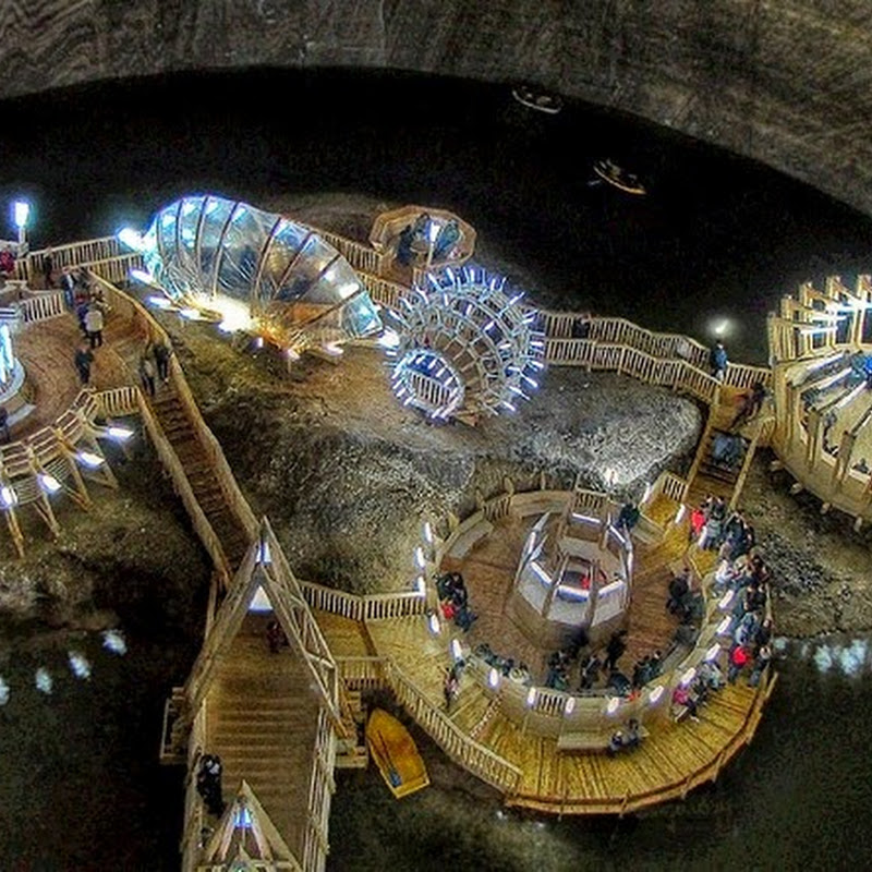 Salina Turda: An Underground Theme Park in a Salt Mine