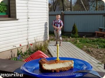 Cheesecake slivocnij