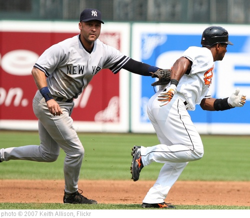 'Derek Jeter' photo (c) 2007, Keith Allison - license: http://creativecommons.org/licenses/by-sa/2.0/