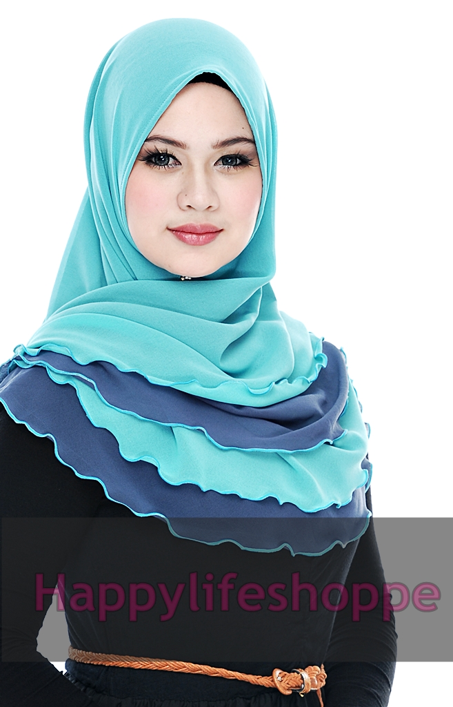 Tudung cantik dan awesome : Happy Life Shoppe :) :)