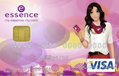 essence VISA Prepaid Card