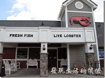 Louisville的RED Lobster餐廳外觀。
