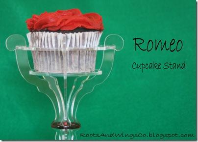 romeo cupcake stand i