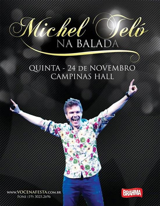 Michel Teló no Campinas Hall
