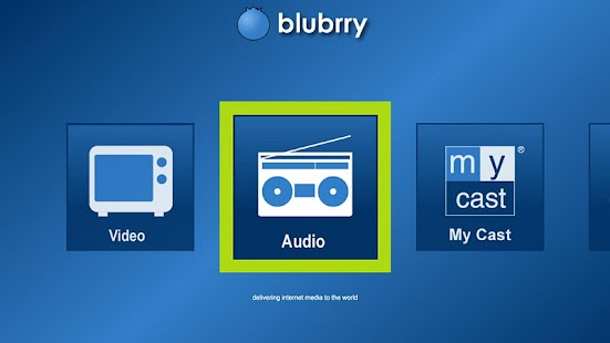 Blubrry Podcasts for Google TV - screenshot