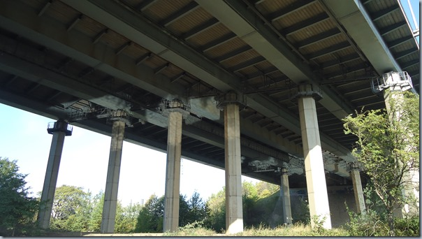Underneath the M62