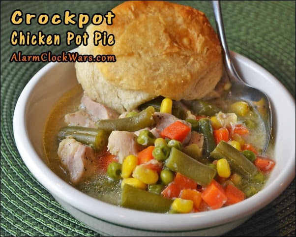 crockpot chicken pot pie