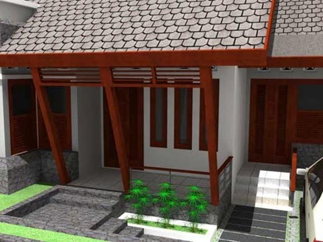 contoh model teras rumah minimalis