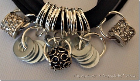 Ribbon Rings Necklace