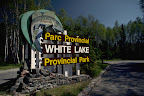 Entrance to White Lake Provincial Park