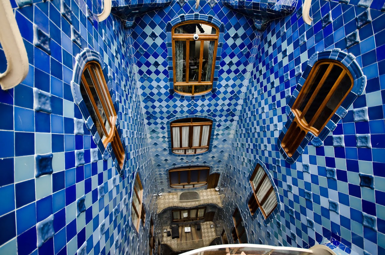 Casa Batllo hallway