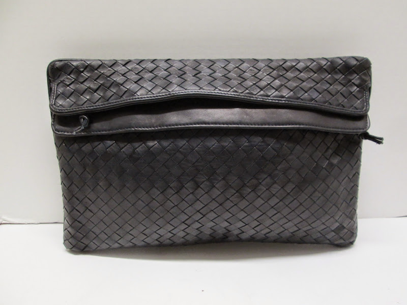 Bottega Venetta Woven Leather Clutch