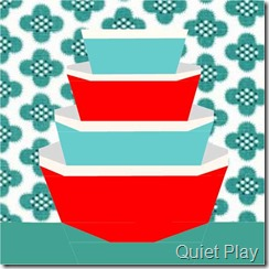 1Sew Retro Bowls Paper Pieced Pattern