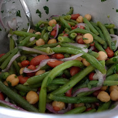 Tangy Three Bean Salad