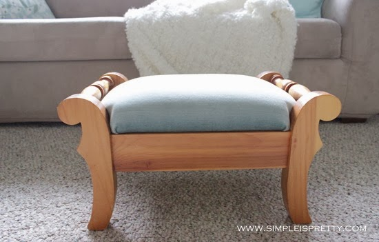 Footstool before from www.simpleispretty.com