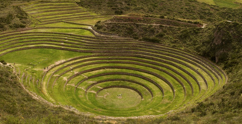 The mysterious moray agricultural terraces of the incas for What does terrace mean