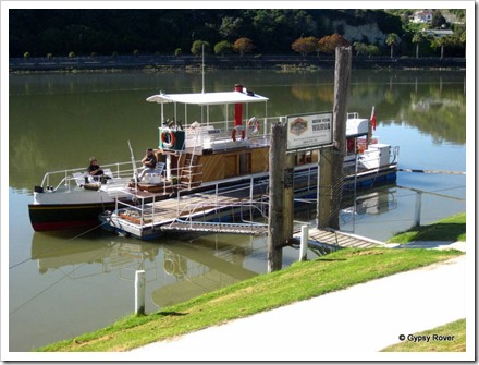 MV Wairua on the Wanganui River.