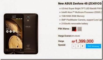 Ini Perbedaan Asus New Zenfone 4S vs Zenfone 4S