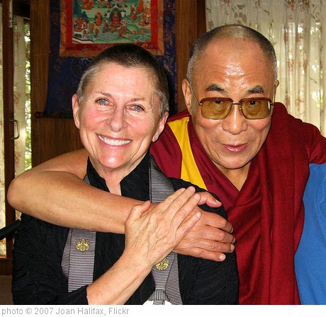 'Roshi Joan, His Holiness the Dalai Lama' photo (c) 2007, Joan Halifax - license: https://creativecommons.org/licenses/by/2.0/