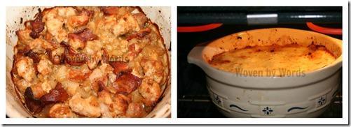 Farmhouse Pork and Apple Pie Mini Collage