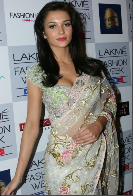 Amy Jackson at Lakme Fashion Week 2012_57