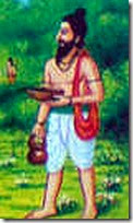 [Ravana in disguise]