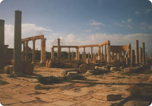 best places to travel in Africa_LeptisMagna