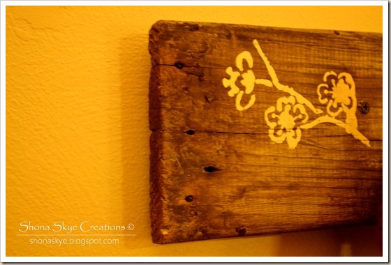 Shona Skye Creations - Reclaimed Decking Coat Rack 007
