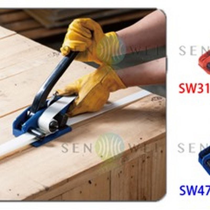目型扣 編織纖維綑綁帶專用扣 - 用途: 重件捆綁