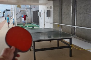 the ping pong table is available!