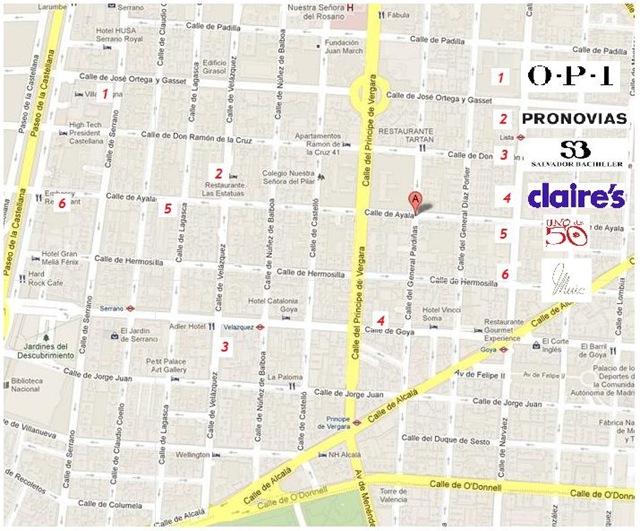 mapa VFNO