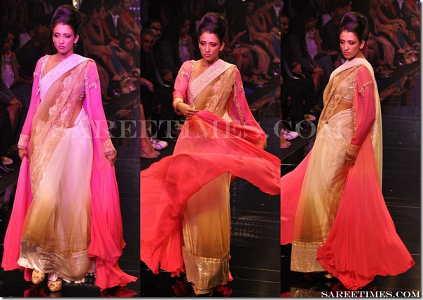 Manish_Malhotra_ Designer_Dual_Color_Saree
