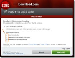 VSDC Free Video Editor -instalador da Cnet