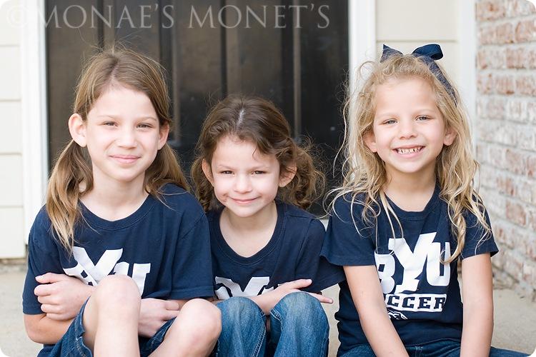 Three girls at 1st house blog