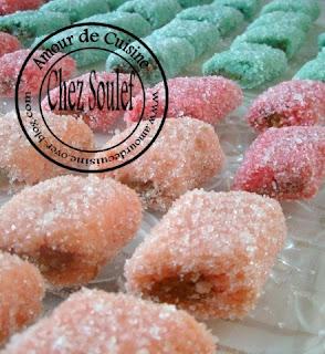 Skikrates gâteaux algerien a la noix de coco sans cuisson
