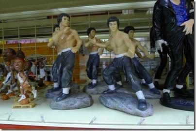 Bruce Lee's miniature