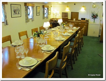 Officers Dining room.