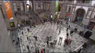 "Flashmob ""Звуки музыки"" в Бельгии"