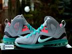 nike lebron 9 ps elite grey candy pink 7 04 LeBron 9 P.S. Elite Miami Vice Official Images & Release Date